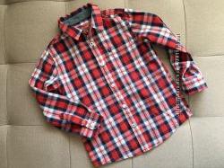 Рубашка REBEL на 5-6 лет как новая. Коллекция 2016