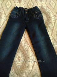 Утеплённые джинсы Yuke