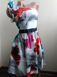Роскошное платье на одно плечо хс-с Miss Sixty