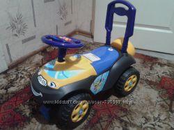 Детский Автомобиль - каталка Автошка с музык. рулём