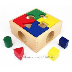 Деревянный сортер Интересная коробка Д029. В наличии.