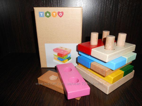 Деревянные плашки Цветные плашки, ТАТО. В наличии.