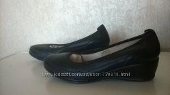 Туфли кожаные, новые, 25 см стелька
