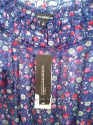 Блузка с рюшами Warehouse