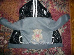 Стильная курточка для модной малышки 3-4 лет