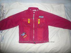 Стильная курточка для девочки 116-128 р. р.