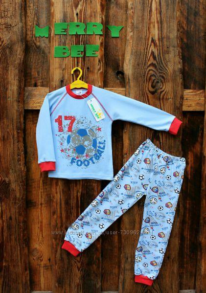 Пижама Футбол для мальчика Тм Merry Bee-скидки