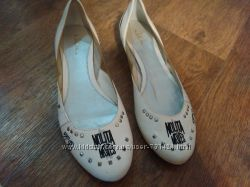 Продам новые кожаные туфли балетки р. 38, 25см