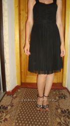 Платье плиссе 44р