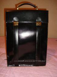 Кожанный мужской портфель