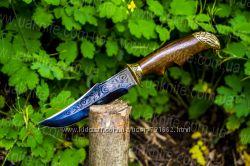 Охотничий нож Орел литье бронзы с документами