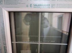 Пластиковые окна Salamander 2 шт