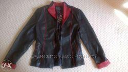 Новая куртка из качественного кожзама Рр S Дешево