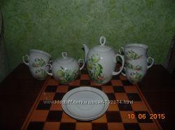 Кофейный и чайный сервиз, бакалы , стаканы