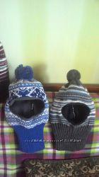 зимние шлемы и шапки, недорого