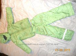 демисезонный, фирменный комплект куртка и штаны, на холодную осень