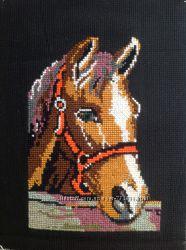 Вышивка крестом Лошадь
