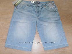Мужские джинсовые шорты Vigoocc батальные. xxxl, xxxxl