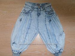 Капри легкие, летний джинс