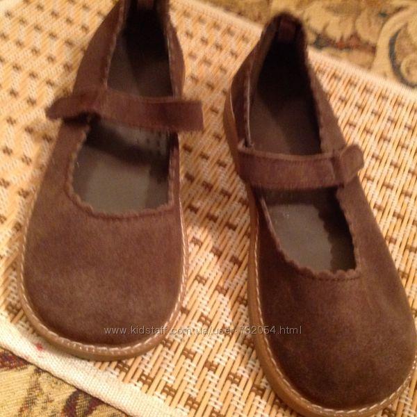Брендовые Gymboree туфли натуральная кожа Америка