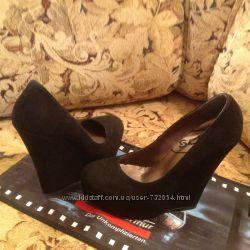 Schuh брендовые туфли натуральный замш