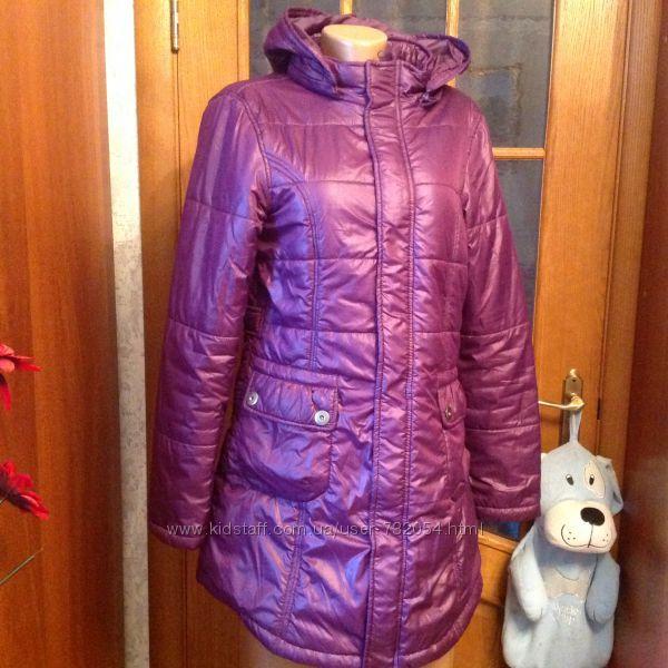 Фирменное ONE ONE стеганое  пальто Англия