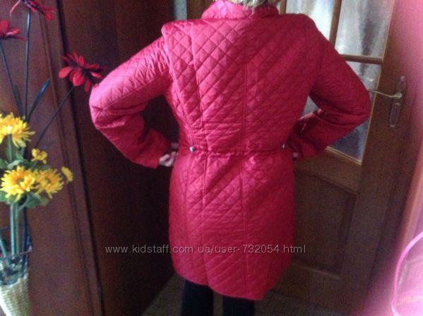 Стёганая удлинённая куртка Польша
