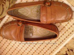 HUSH PUPPIES кожаные туфли Англия