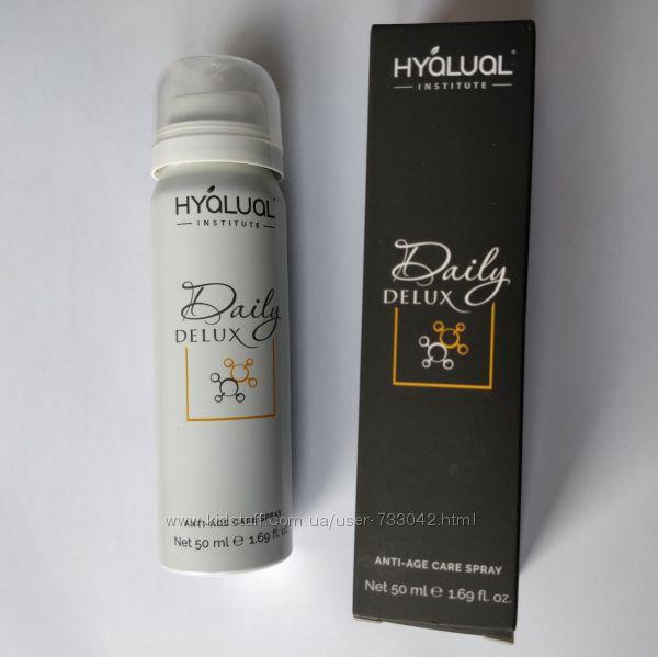 Hyalual Спрей с гиалуроновой и янтарной кислотой Гиалуаль Дейли Делюкс 50мл