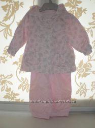 Комплект Mothercare на 3 - 6 мес. комбинезон и курточка