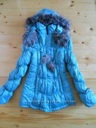 Куртка пуховик девушке 44, 46 размер деми зима
