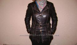 куртка демисезон , жакет натуральная кожа р. M-L