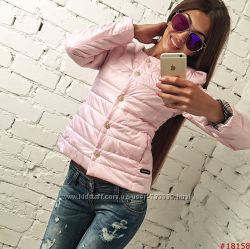 Стеганая женская куртка демисезон супер цена разные цвета