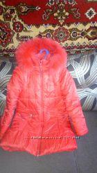 Пальто зимнее фирмы Кико размер 140