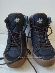 Next стильные демисезонные ботинки текстиль размер 3