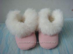 Chicco розовые пинетки ботиночки 19 размер