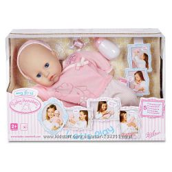 Интерактивный пупс My First Baby Annabell Doll- Let&180s Play