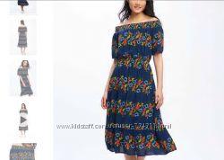 Шикарнейшее платье олд неви, л