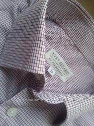 Стильные фирменные клетчастые рубашки Marks & Spencer, McGREGOR, F&F, NEXT