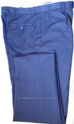 Деловые брюки известных брендов синего цвета