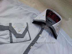Белые рубашки известных брендов всех размеров