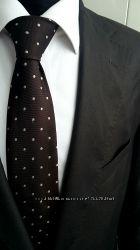 Костюм деловой Marks & Spencers коричневого цвета