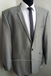 Костюм стильный  F & F светло-серый. Слим фит. Безупречное качество. Подойд