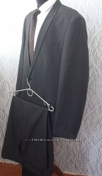 деловой костюм nexт темно-серый отличное состояние размер пиджака 44r. бр