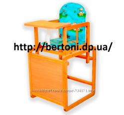 Детский стульчик для кормления бук