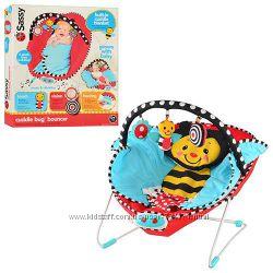 Детский шезлонг пчелка 70016