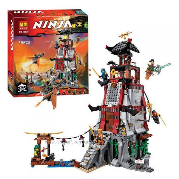 Конструктор Bela 10528 Ninja Ниндзя Ninjago Ниндзяго Осада маяка 815 дет