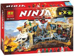 Конструктор Bela 10530 Ninja Ниндзя Ninjago Ниндзяго Самурай Х Битва в пеще