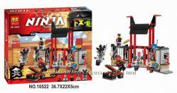 Конструктор Bela 10522 Ninja Ниндзя Ninjago Ниндзяго Побег из тюрьмы Крипта