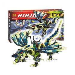 Конструктор Bela 10400 Ninjago ниндзяго Ниндзя NINJA Атака дракона Моро